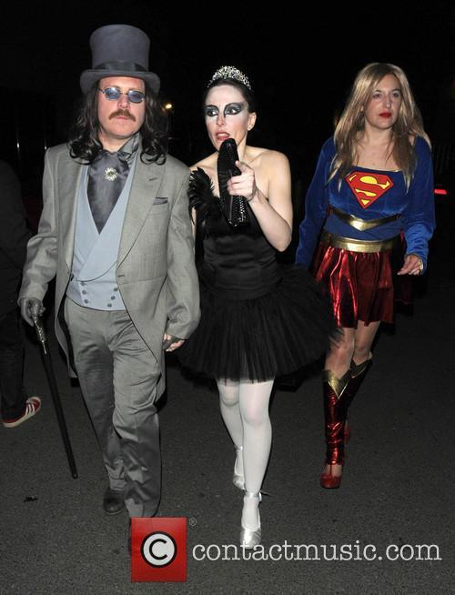Leigh Francis and Jill Carter