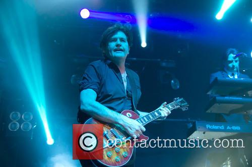 Simple Minds and Charlie Burchill
