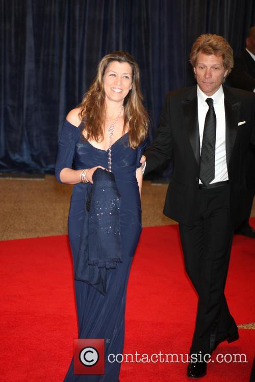 Jon Bon Jovi and Dorothea Bon Jovi