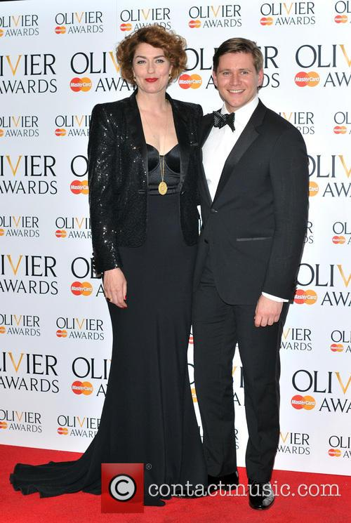 Allen Leech and Anna Chancellor