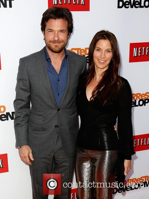 Jason Bateman and Amanda Anka