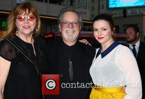 Amber Tamblyn, With Her Mom and Dad (russ Tamblyn)