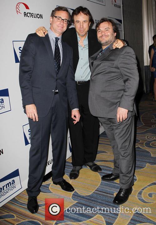 Bob Saget, Kevin Nealon and Jack Black 9