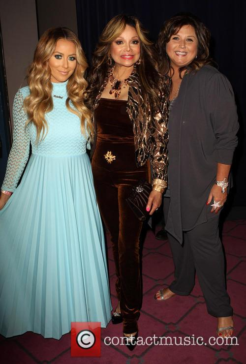 Aubrey O'day, Latoya Jackson and Abby Lee Miller