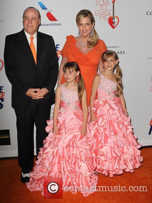 Ken Rickel, Nancy Davis, Mariella Rickel and Isabella Rickel 3