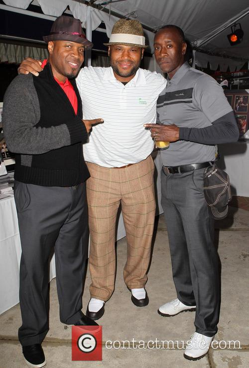 Don Cheadle, Anthony Anderson and Michael Bearden