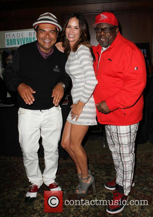 George Lopez, Debbe Dunning and Cedric The Entertainer 7