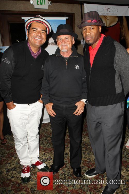 George Lopez, Joe Pesci and Michael Bearden 9