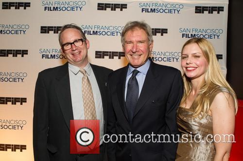 Ted Hope, Harrison Ford and Vanessa Hope 3