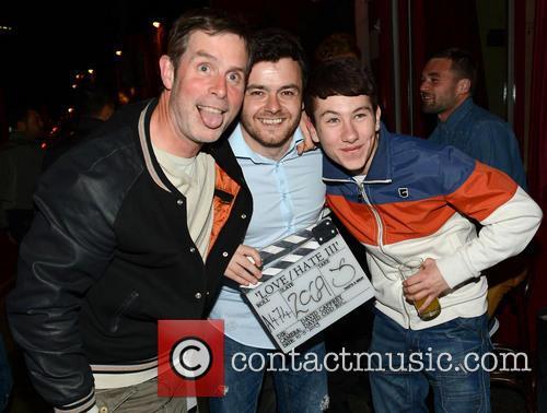 Laurence Kinlan, David Caffrey and Barry Keoghan