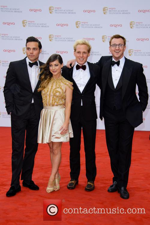 Andy Jordan, Louise Thompson, Jamie Laing and Francis Boulle