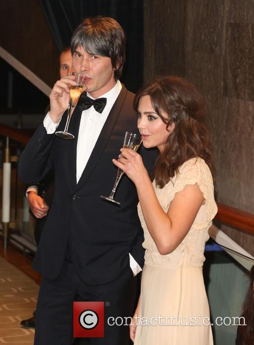 Brian Cox and Jenna-louise Coleman