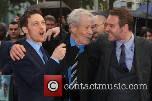 James Mcavoy, Ian Mckellen and Michael Fassbender