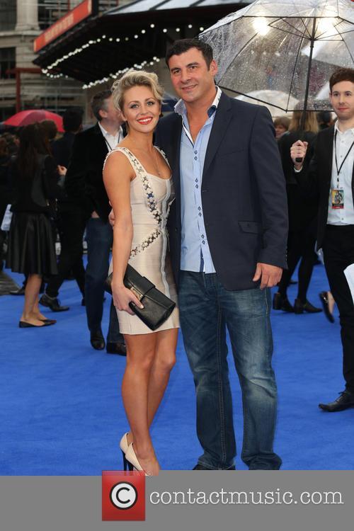 Mandy Davies and Joe Calzaghe 2