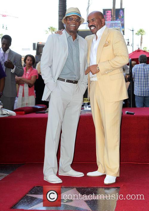Samuel L. Jackson and Steve Harvey 4
