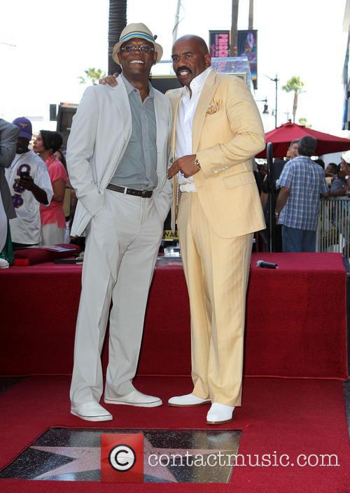 Samuel L. Jackson and Steve Harvey 5