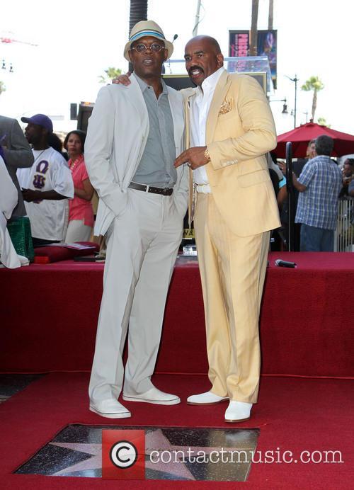 Samuel L. Jackson and Steve Harvey 7