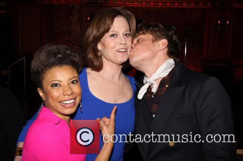 Shalita Grant, Sigourney Weaver and Billy Magnussen 1