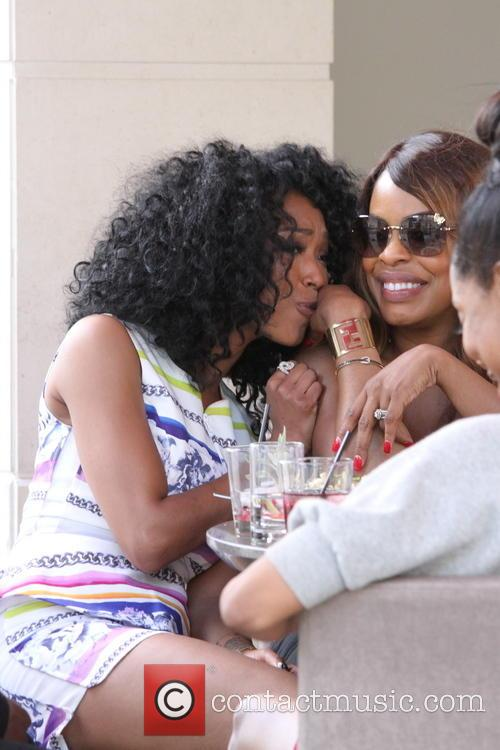 Brandy Norwood and Niecy Nash