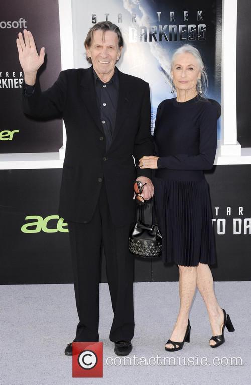 Susan Bay and Leonard Nimoy 1