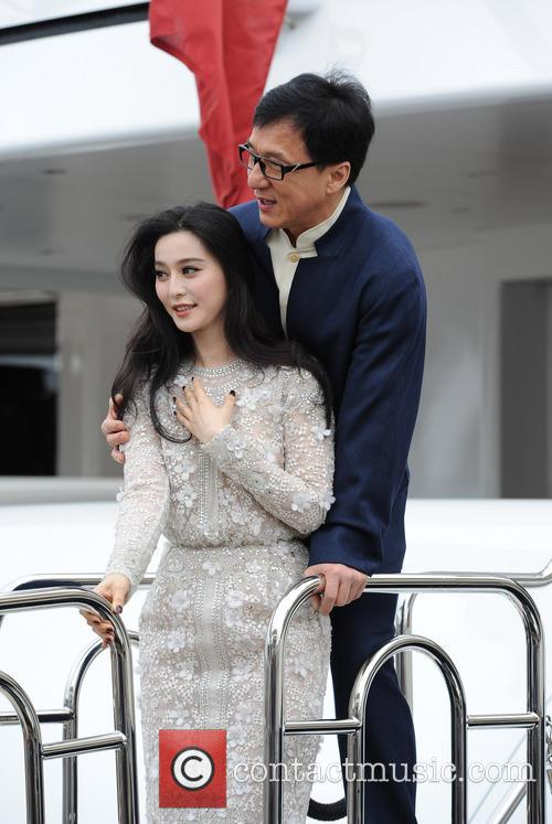 Fan Bingbing and Jackie Chan