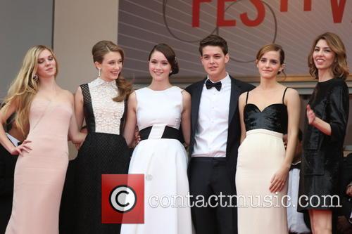 Katie Chang, Taissa Fariga, Israel Broussard, Claire Julien, Emma Watson and Sofia Coppola