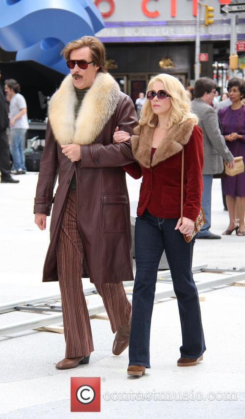Will Ferrell and Christina Applegate