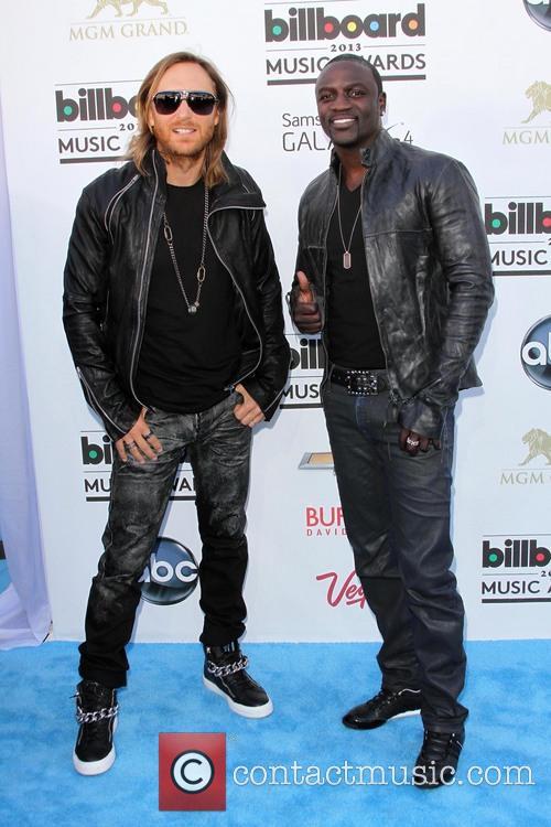 David Guetta and Akon 5