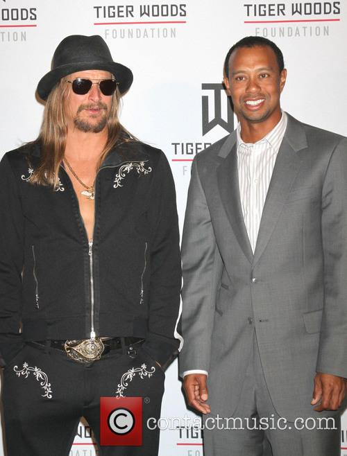 Kid Rock and Tiger Woods 5
