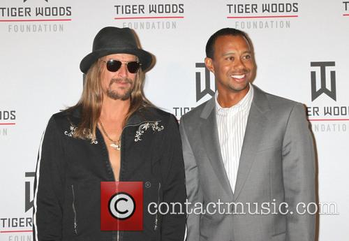 Kid Rock and Tiger Woods 7