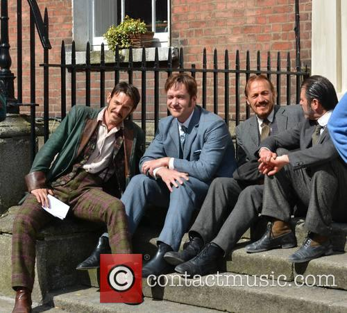 Jerome Flynn, Matthew Mcfadyen and Adam Rothenberg