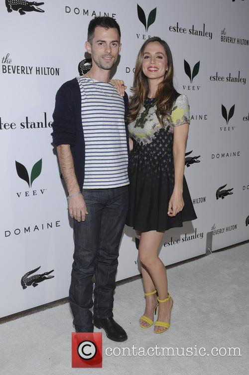 Nate Dushku and Eliza Dushku