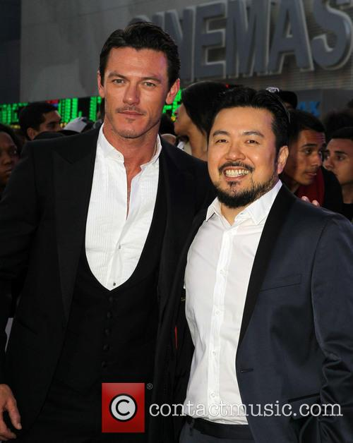 Luke Evans and Justin Lin
