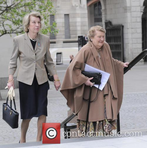 Cathedral and Patricia Routledge