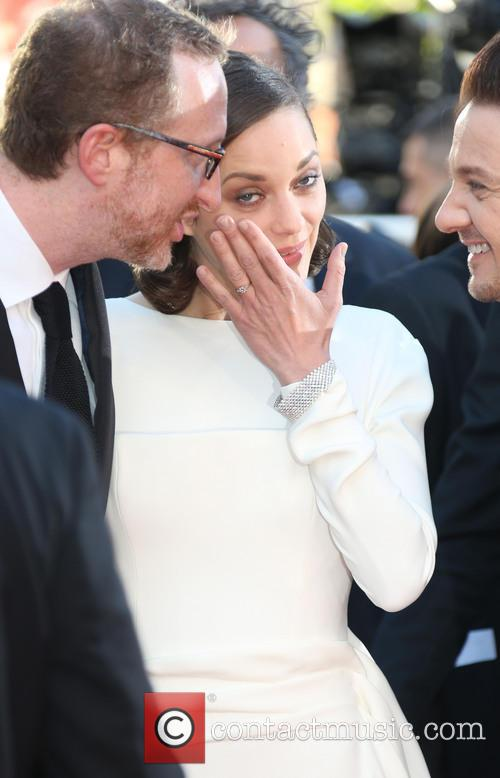 James Gray and Marion Cotillard