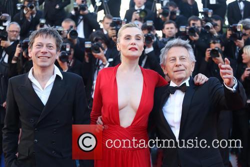 Mathieu Amalric, Emmanuelle Seigner and Roman Polanski