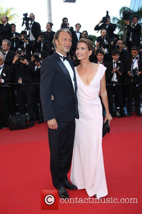 Mads Mikkelsen and Hanne Jacobsen 1