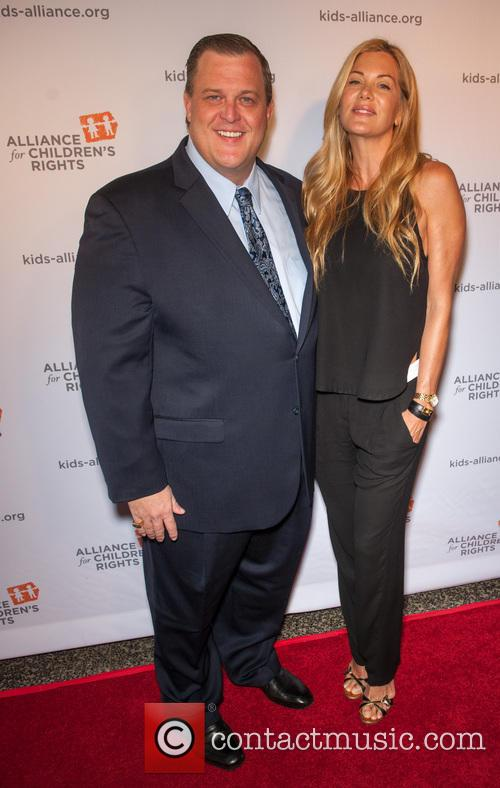 Billy Gardell and Kimberly Marciano-strauss