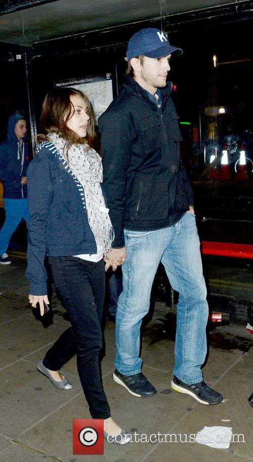 Ashton Kutcher and Mila Kunis 6