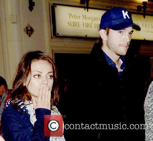 Ashton Kutcher and Mila Kunis 1
