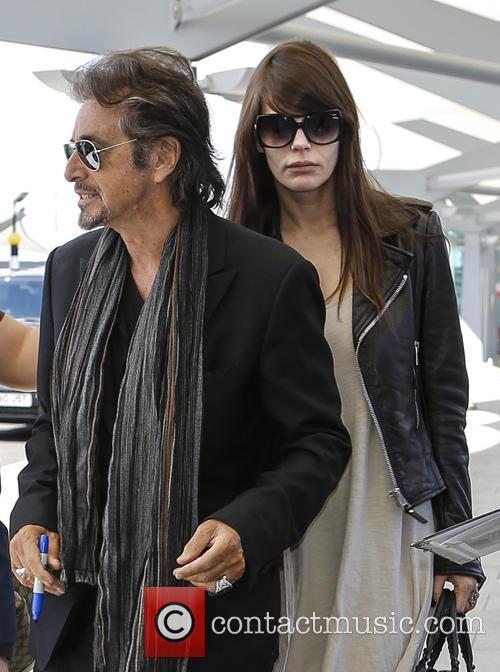 Al Pacino and Lucila Sola 1