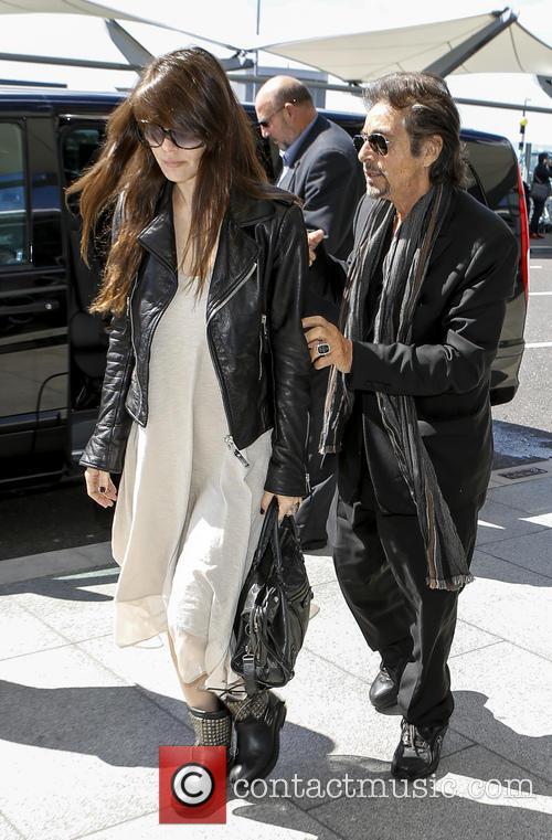 Al Pacino and Lucila Sola 5