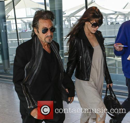 Al Pacino and Lucila Sola 6
