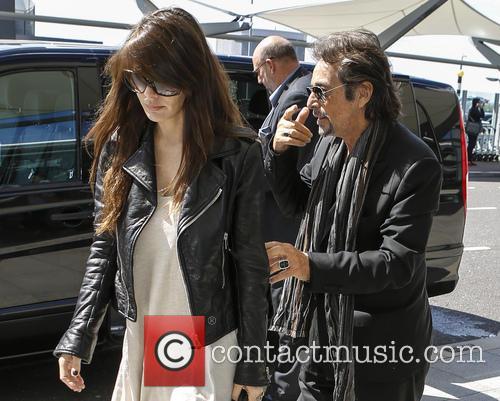 Al Pacino and Lucila Sola 8