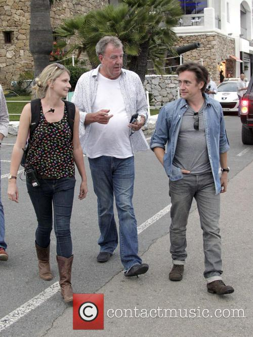 Richard Hammond and Jeremy Clarkson