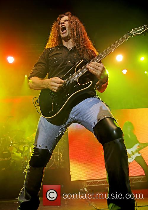 Megadeth and Chris Broderick 2