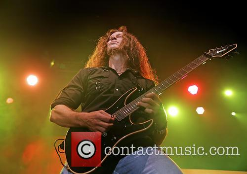 Megadeth and Chris Broderick 5