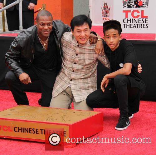 Chris Tucker, Jackie Chan and Jaden Smith