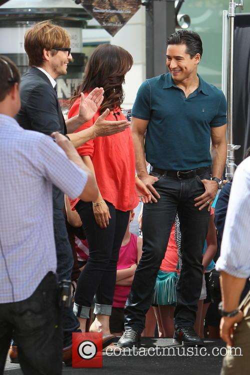 Ken Paves, Courtney Mazza and Mario Lopez 2