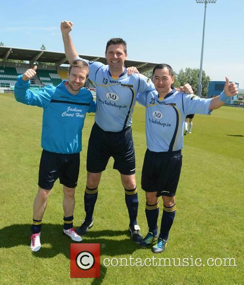 Aidan Power, Niall Quinn and Jason Sherlock 7